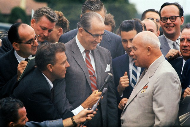 the limits of the thaw introduced by khrushchev in the ussr