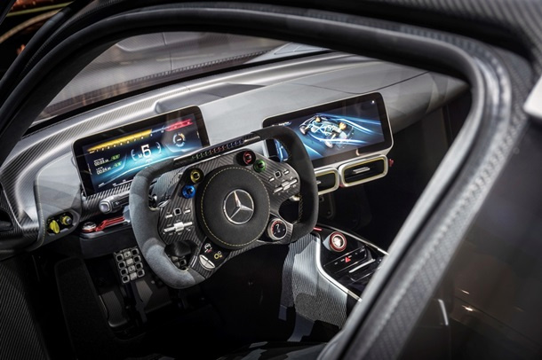 Mercedes-AMG представил гиперкар Project One