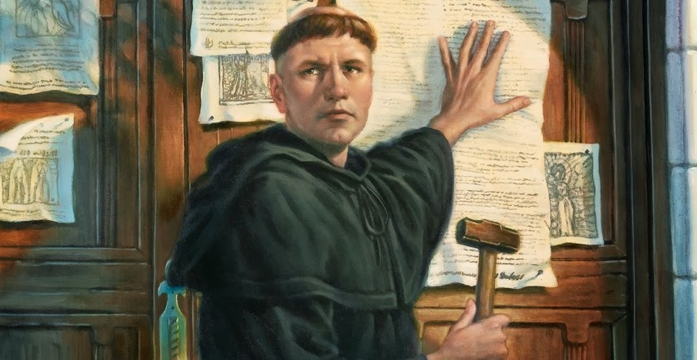 martin luther 95 thesis rap But when martin luther nailed his 95 theses to the wittenburg church door on october 31, 1517, he wasn't launching a fully-formed movement here are six facts you probably didn't know about martin luther and his 95 theses, all drawn from dr jennifer mcnutt's mobile ed course milestones of the.
